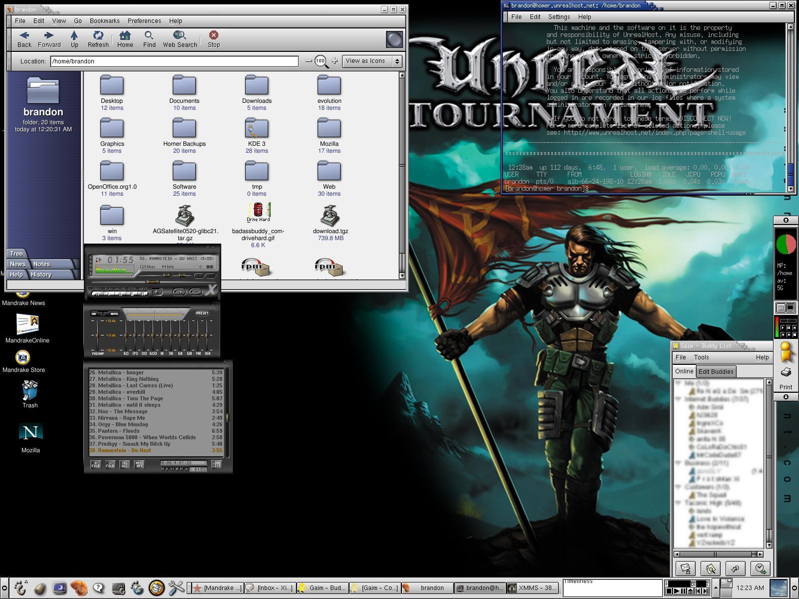 Linux Mandrake 8.2