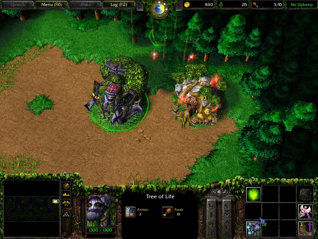 WarCraft 3 for the PC