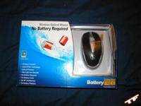 A4Tech NB-30 Battery-Free Optical Mouse